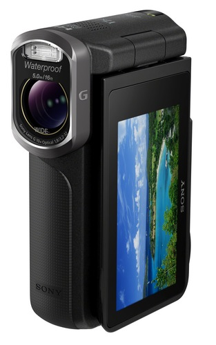 Sony Handycam GW55VE Waterproof Full HD Pocket Camcorder black