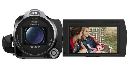 Sony Handycam HDR-PJ710V Camcorder with built-in Projector front