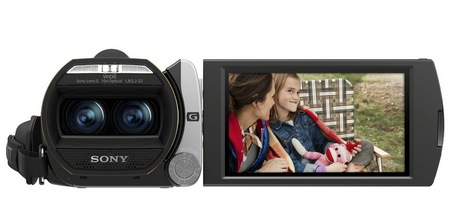 Sony Handycam HDR-TD20V Double Full HD 3D Camcorder front