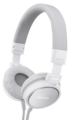 Sony MDR-ZX600 Headphones white 1