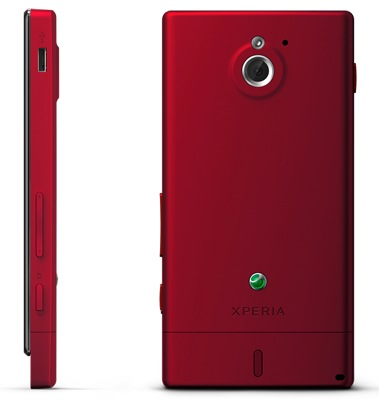 Sony Xperia sola Smartphone with Floating Touch red 2