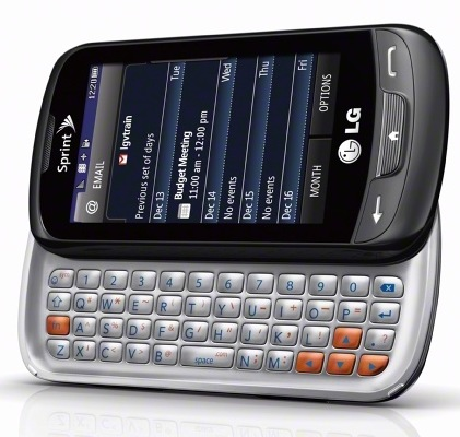 Sprint LG Rumor Reflex QWERTY Messaging Phone