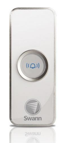 Swann MP3 DJ Doorbell Wireless Music Doorbell push button unit