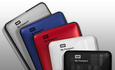 Western Digital My Passport Refreshed USB 3.0, 2TB Model colors