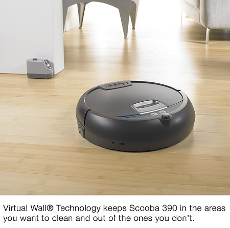 iRobot Scooba 390 Floor Washing Robot virtual wall