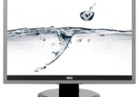 AOC e2219P2 LED-Backlit LCD Monitor