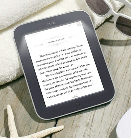 B&N NOOK Simple Touch with GlowLight 1