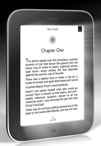 B&N NOOK Simple Touch with GlowLight
