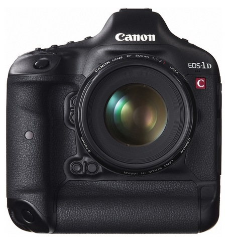 Canon EOS-1D C DSLR Camera with 4K Video Recording front