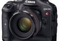 Canon EOS-1D C DSLR Camera with 4K Video Recording