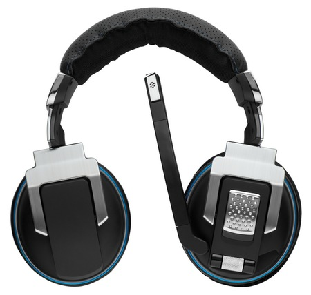 Corsair Vengeance 2000 Wireless 7.1 Gaming Headset folded