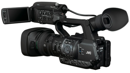 JVC ProHD GY-HM650 Handheld Mobile News Camera 1