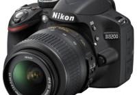 Nikon D3200 Entry-level DSLR Camera angle black