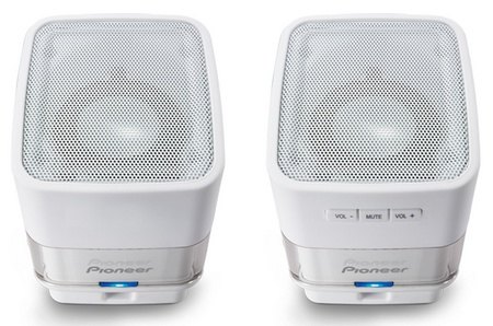 Pioneer S-MM201 USB Laptop Speakers white
