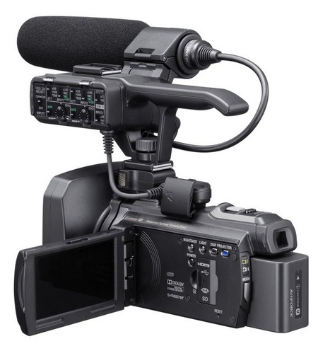 Sony NXCAM HXR-NX30U Professional Full HD Camcorder with built-in Projector angle