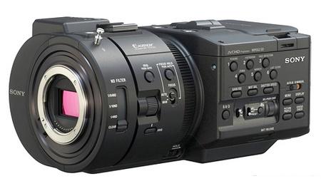 Sony NXCAM NEX-FS700U Full HD Super Slow Motion Camcorder