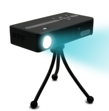 AAXA P4 WiFi Pico Projector with tripod