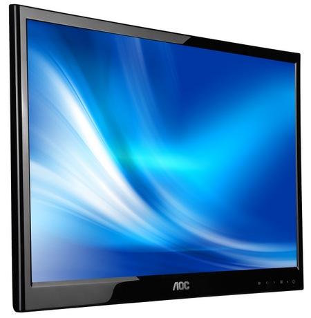 AOC e2251Fwu USB-powered LED-backlit LCD Monitor angle