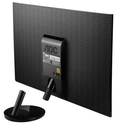 AOC e2251Fwu USB-powered LED-backlit LCD Monitor back