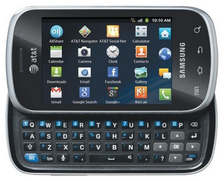 AT&T Samsung Galaxy Appeal Side-slider QWERTY Smartphone 1Appeal