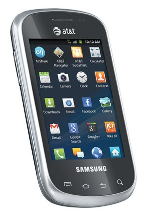 AT&T Samsung Galaxy Appeal Side-slider QWERTY Smartphone