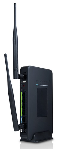 Amped Wireless R20000G High Power Wireless-N Dual Band Router stand