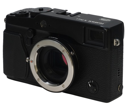 FujiFilm M-Mount Adapter for X-Pro1 in use
