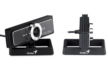 Genius WideCam F100 120-degree Wide angle Full HD Webcam rotate
