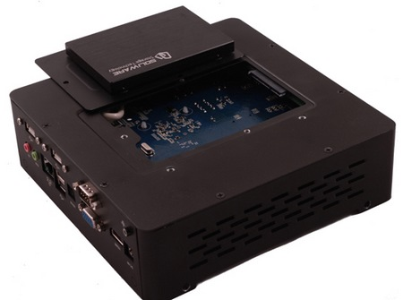 Habey BIS-6763 Embedded Fanless PC buttom plate