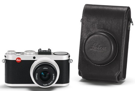 Leica X2 Compact Camera with APS-C Professional Sensor black leather case