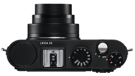 Leica X2 Compact Camera with APS-C Professional Sensor top