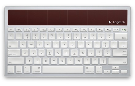 Logitech Wireless Solar Keyboard K760 for Mac, iPad and iPhone top