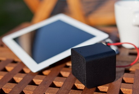 NuForce Cube combines Portable Speaker, Headphones Amplifier and USB DAC black