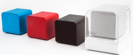 NuForce Cube combines Portable Speaker, Headphones Amplifier and USB DAC colors 1
