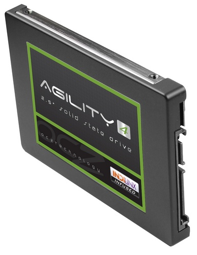 OCZ Agility 4 SSD powered by Indilinx Everest 2 Controller