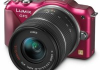 Panasonic LUMIX DMC-GF5 Micro Four Thirds Camera red with 14-42mm standard zoom lens