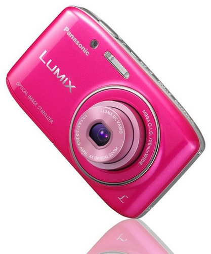 Panasonic LUMIX DMC-S2 Affordable Compact Camera pink