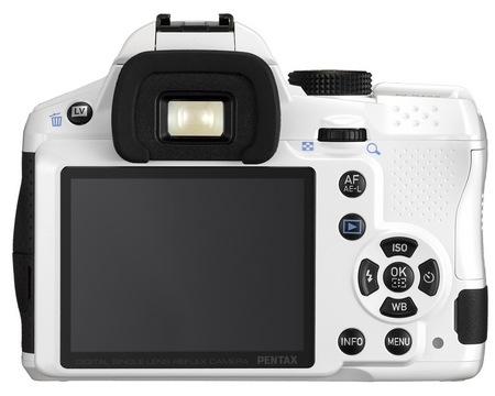 Pentax K-30 Weather Resistant DSLR Camera back