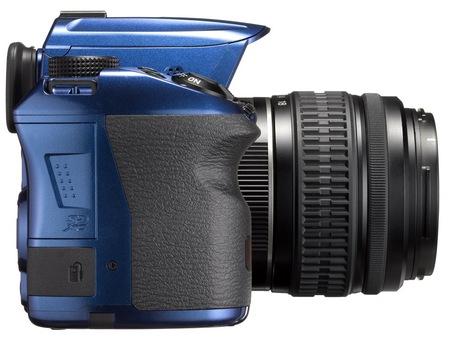 Pentax K-30 Weather Resistant DSLR Camera side