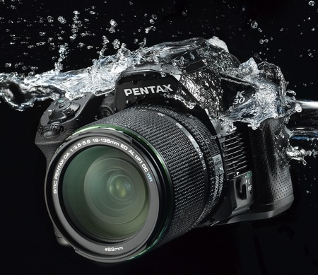 Pentax K-30 Weather Resistant DSLR Camera