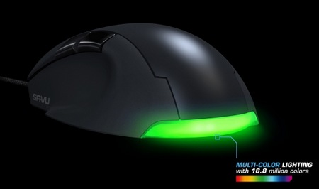 ROCCAT Savu Mid-size Hybird Gaming Mouse