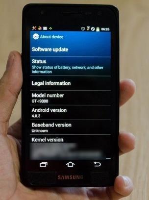 Samsung Galaxy S III Rumor vinhte.vn
