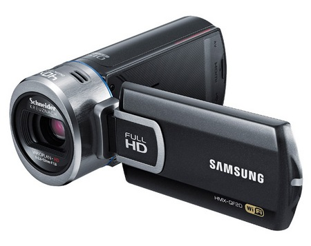 Samsung HMX-QF20 SMART Camcorder with WiFi angle 1