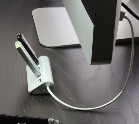 Satechi ST-UHA 4-Port Aluminum USB Hub imac