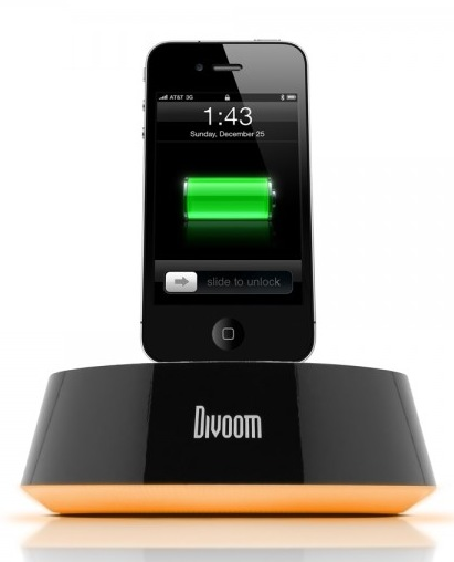 Satechi iBase Speaker Dock with iphone