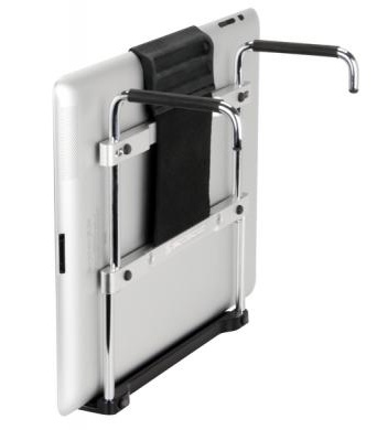Scosche fitRAIL Exercise Mount for iPad back