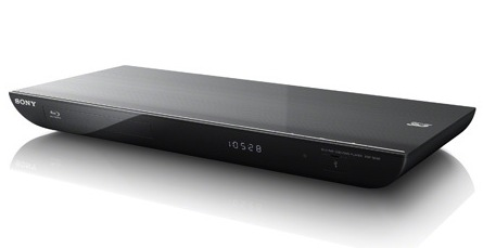 Sony BDP-S590 3D Blu-ray player with WiFi