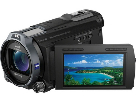 Sony Handycam HDR-CX760V Full HD Camcorder with 96GB Flash Memory 2