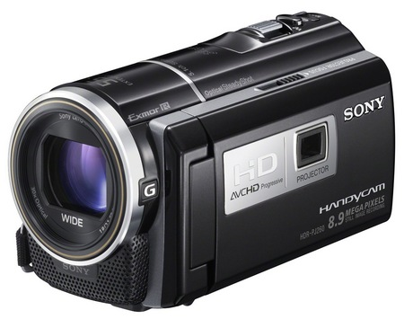Sony Handycam HDR-PJ260V Camcorder with built-in Projector 2