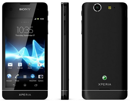 Sony Xperia SX LTE Android Smartphone for Japan black